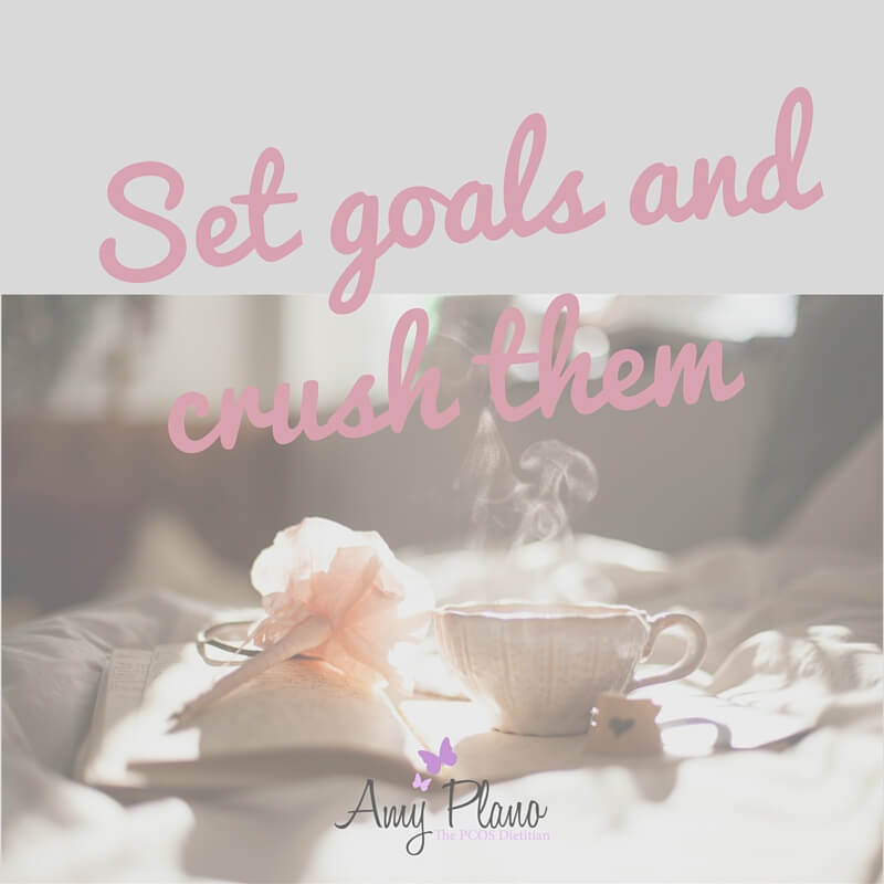 Set Goals Cysters and Crush Them!