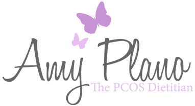 STAGING Amy Plano, The PCOS Dietitian